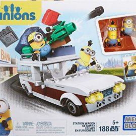 Minions – Juego de construcción, furgoneta, multicolor (Mattel