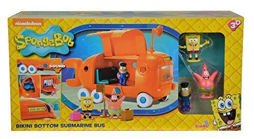 Bob Esponja – Autobús escolar (Simba Dickie 9498659)