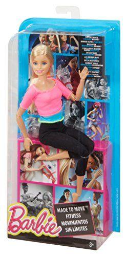 Barbie – Muñeca, movimientos sin límites, top color rosa Mattel