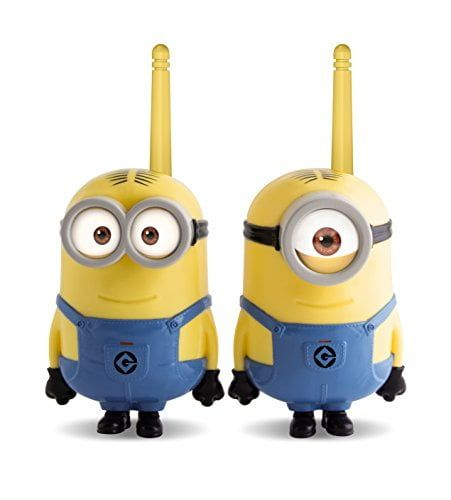 Minions 375048 - Set de 2 walkie talkies (IMC Toys 375048) - Walkie