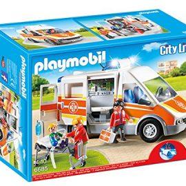 Playmobil – Ambulancia con luces y sonido (66850)