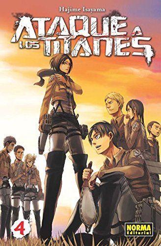 Ataque A Los Titanes 4 - Número 4 (CÓMIC MANGA)