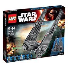 LEGO Star Wars – Nave de Combate de Kylo Ren, multicolor (75104) Lego