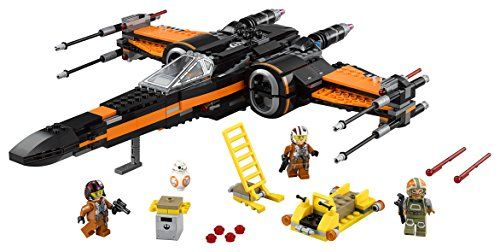 LEGO Star Wars - Poe's X-Wing Fighter, multicolor (75102)