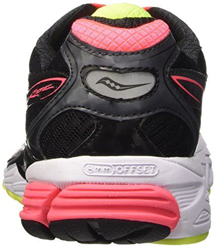 Saucony Ride 8 W – Zapatillas de running Mujer, Negro (Black