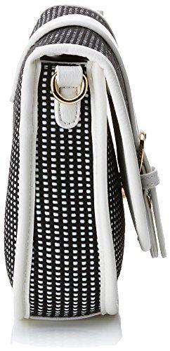 Gioseppo Hana, Shopper y Bolso de Hombro para Mujer, Blanco (White), 7x18x21,5 cm (W x H x L)