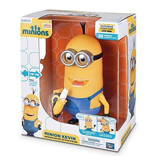 Minions Kevin Banana Eating Action Figure by USA