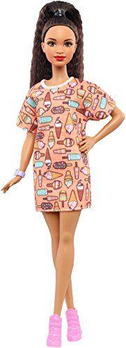 Barbie Fashionista – Muñeca con vestido swag