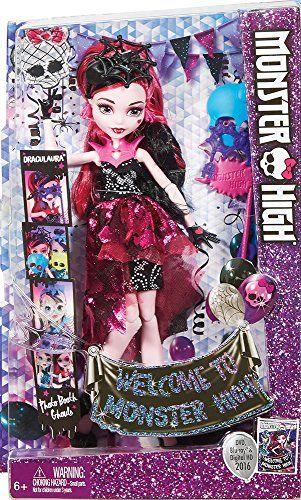 Monster High - Draculaura, monstruitas photocall (Mattel DNX33)