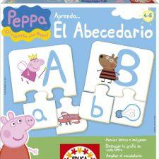 Peppa Pig- Aprendo el abecedario, juego educativo (Educa-Borrás 15652) Peppa Pig - Juguetes