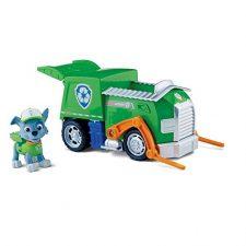 Paw Patrol-  Rocky y su camión de reciclaje (Spin Master) La Patrulla Canina