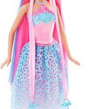Barbie – Muñeca, princesa peinados mágicos, color azul (Mattel Barbie