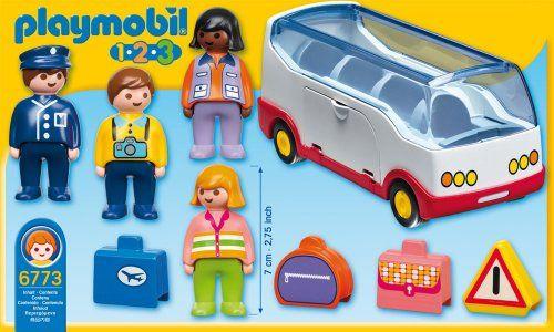 Playmobil – 1.2.3 Autobús (6773)