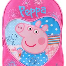 Peppa Pig PEPPA001177 – Mochila para niñas, modelo Peppa Pig, color rosa Peppa Pig - Juguetes
