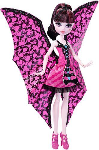 Monster High – Draculaura monstruita-murciélago (Mattel DNX65) Muñecas Monster High