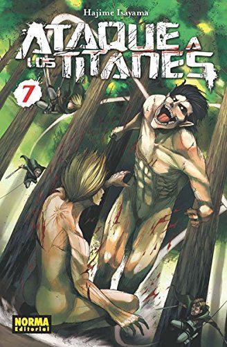 Ataque a los Titanes 7 (CÓMIC MANGA)
