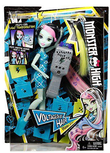 Monster High - Peinados megavólticos (Mattel DNX36)