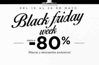 Rebajas en moda ¿Black Friday en Mayo?