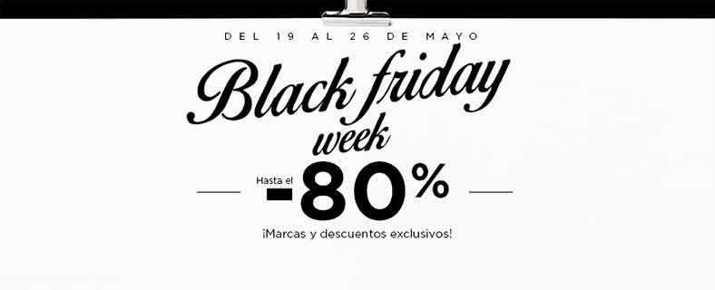 Rebajas en moda ¿Black Friday en Mayo?