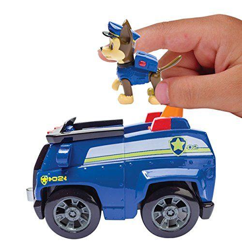 Paw Patrol – Chase y su Camión Policía – Vehículo y Figura La