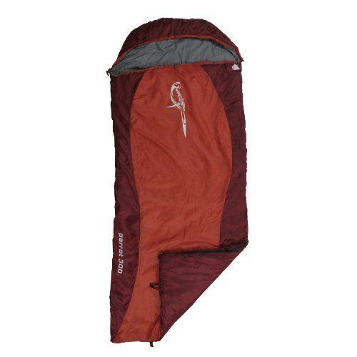 10t Outdoor Equipment 10T Parrot 300 Saco de dormir de manta, Rojo, Estándar