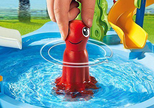 Playmobil - Parque acuático con toboganes (66690)
