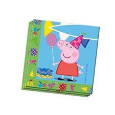 Peppa Pig – Set de 20 servilletas, 33 x 33 cm (Verbetena 5652224) Peppa Pig - Juguetes