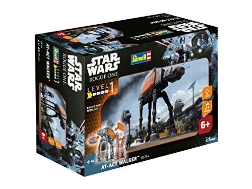 Revell – Maqueta Star Wars Rogue One, Caminante AT-ACT (6754)
