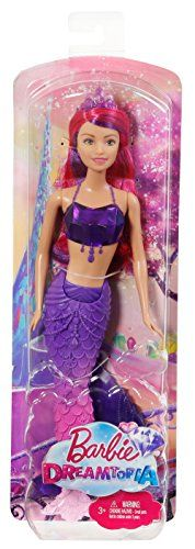 Barbie – Muñeca sirena con vestido de joyas
