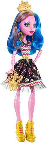 Monster High – Gooliope pirata (Mattel FBP35)