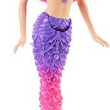 Barbie – Muñeca sirena con vestido de joyas Barbie