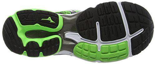Mizuno Wave Rider 19, Zapatillas de running para hombre,  verde