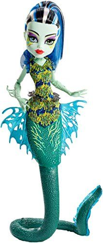 Monster High – Muñeca, Monstruitas de profundidades Muñecas Monster High