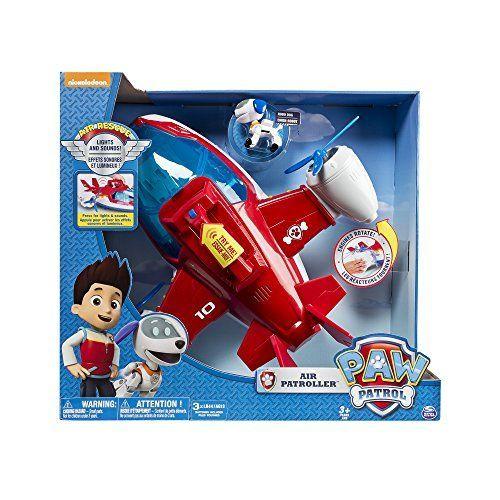Paw Patrol - Helicóptero de Patrulla aérea, color rojo, azul, blanco
