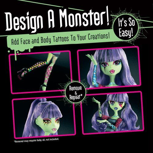 Monster High X3732 - Diseña Tu Monstruo (Mattel)