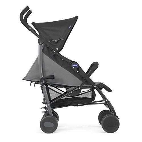 Chicco echo silla de paseo ligera y compacta 7 6 kg color negro - Silla paseo compacta ...