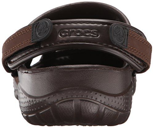 Crocs 10931-30Q Zuecos con Correa para Hombre, Color Marrón (Espresso), Talla 41-42 EU (M8)