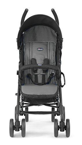 Chicco Echo – Silla de paseo, ligera y compacta, 7,6 kg, color negro