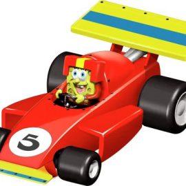 Carrera 20061230 – Coche de carreras diseño Bob Esponja [Importado de