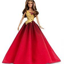 Barbie – Muñeca fashion, felices fiestas, color rojo (Mattel DRD25) Barbie