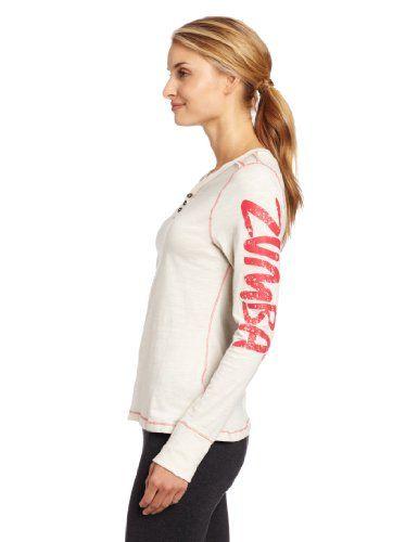 Zumba Fitness Flair Long Sleeve Top - Camisa de manga larga para mujer