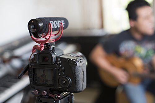 Rode VideoMic Go – Micrófono de condensador para cámara DSLR
