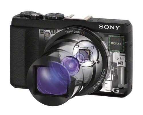 "Sony DSC-HX60 - Cámara compacta de 20.4 Mp (pantalla de 3"", zoom"