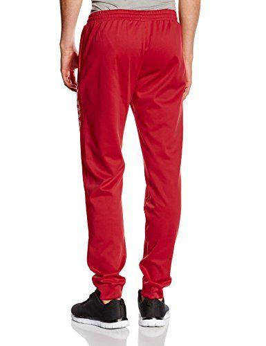 Joma Suez - Pantalón unisex, color rojo, talla 3XL