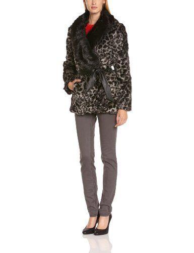 Derhy Galbe - Abrigo de manga larga para mujer