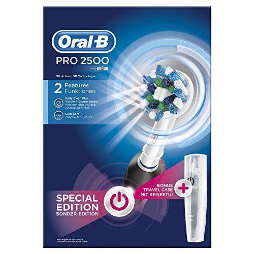 Oral-B PRO 2500CrossAction - Cepillo de dientes eléctrico
