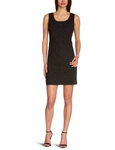 Derhy - Vestido con aberturas sin mangas para mujer