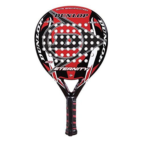 Dunlop Eternity – Pala de pádel, color negro / rojo / blanco, 38 mm