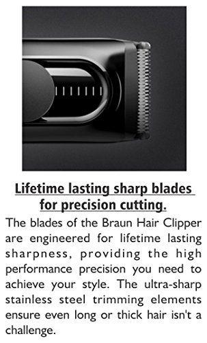 Braun HC 5010 - Cortapelos con 9 longitudes de corte