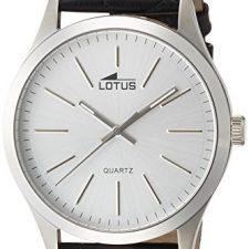Lotus  15961/1 – Reloj de cuarzo para hombre, con correa de cuero, Relojes